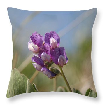 Breathe In The Air No.2 Throw Pillow by Neal Eslinger