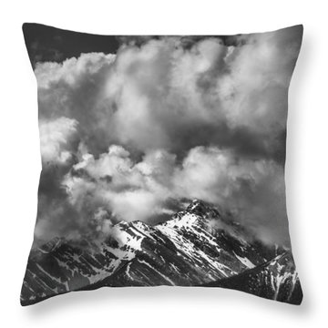 Breathe Out Throw Pillow