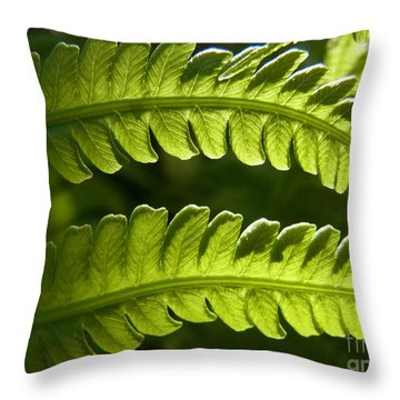 Throw Pillow featuring the photograph Breathing Light by Agnieszka Ledwon