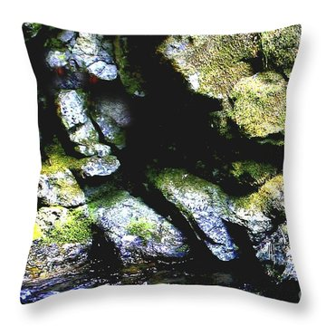 Breathing... Waiting...   Throw Pillow