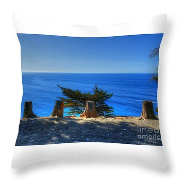 Throw Pillow featuring the photograph Breathtaking by Kevin Ashley