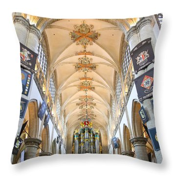 Breda Cathedral Throw Pillow