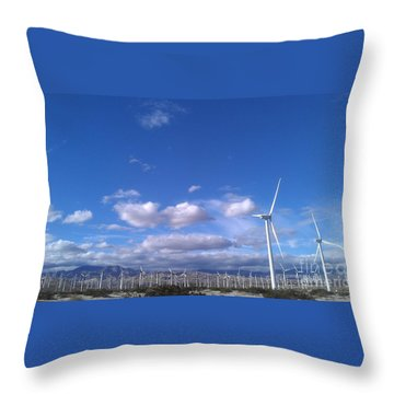 Throw Pillow featuring the photograph Breeze by Chris Tarpening