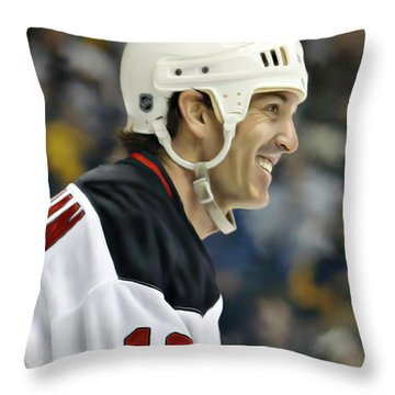 Brendan Shanahan Throw Pillow