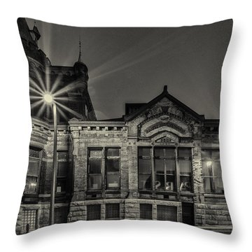 Brewhouse 1880 Throw Pillow