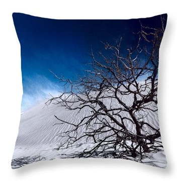Brewing Sand Storm Throw Pillow