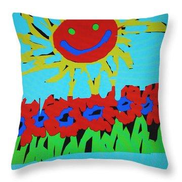 Brians Art Throw Pillow