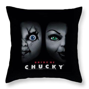 Chucky Throw Pillows