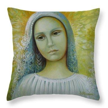 Bride To Anyone Throw Pillow by Elena Oleniuc