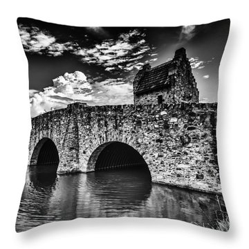 Bridge At Alabama Shakespeare Festival Throw Pillow