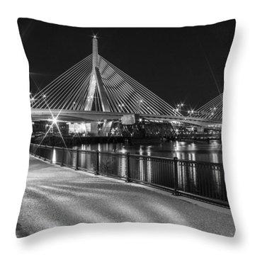 Bridge In Boston Throw Pillow
