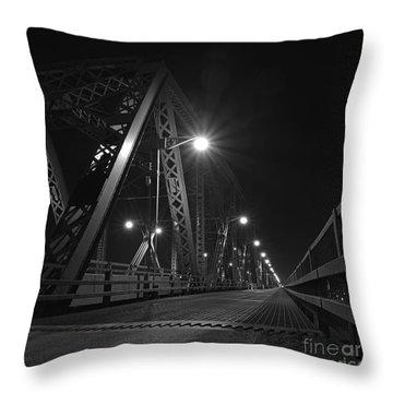 Bridge Night Throw Pillow