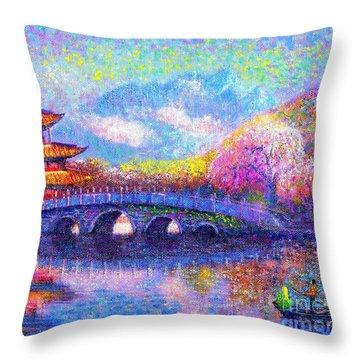 Bridge Of Dreams Throw Pillow