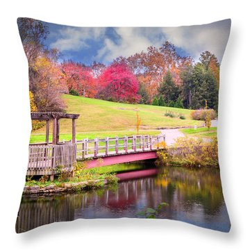 Bridge Of Dreams Throw Pillow