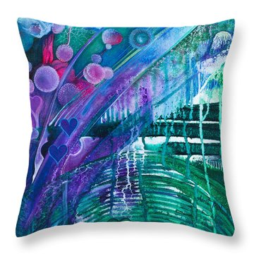 Bridge Park Throw Pillow