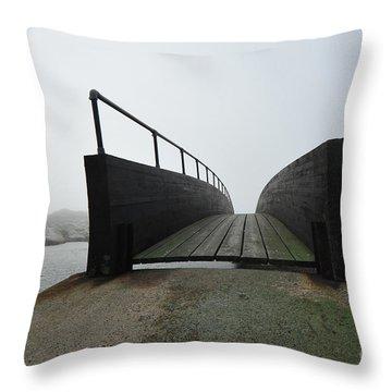 Throw Pillow featuring the photograph Bridge by Randi Grace Nilsberg
