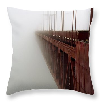 Bridge To Obscurity Throw Pillow by Bill Gallagher