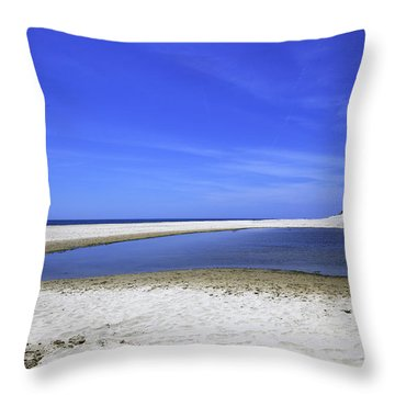 Bridgehampton Sky Throw Pillow