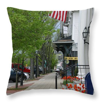 Bridgewater Ma Throw Pillow