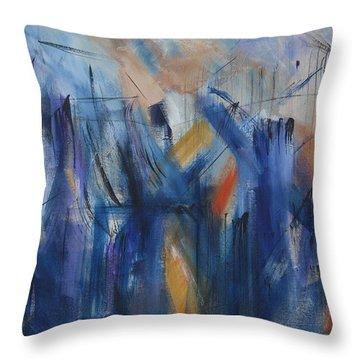 Bridging Throw Pillow