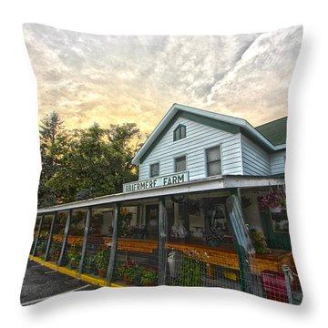 Briermere Farm Throw Pillow