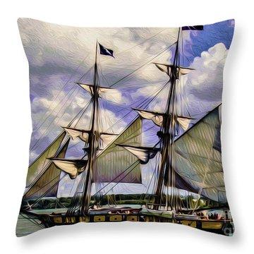 Brig Niagara IIi Throw Pillow