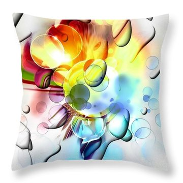 Bright By Nico Bielow Throw Pillow