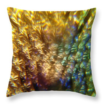 Bright Effects Throw Pillow