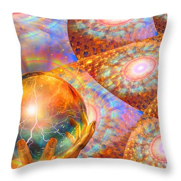 Bright Future Throw Pillow by Michael Durst