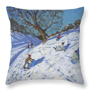Bright Morning   Chatsworth Throw Pillow by Andrew Macara