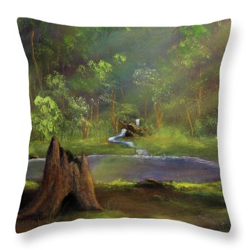 Brightening Throw Pillow