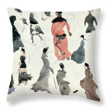 Brighton Ladies Throw Pillow