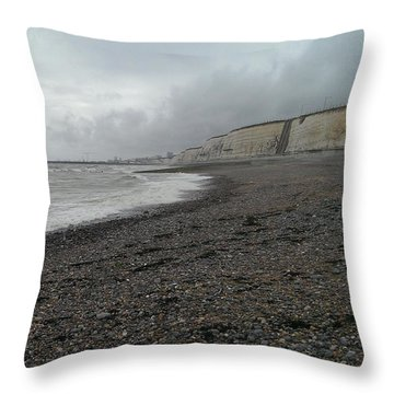 Brighton Seaside Throw Pillow