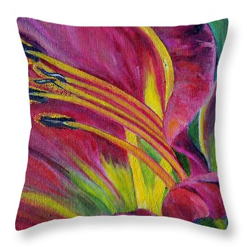 Brilliance Within Throw Pillow by Marilyn  McNish