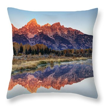 Brilliant Cathedral Throw Pillow by Mark Kiver