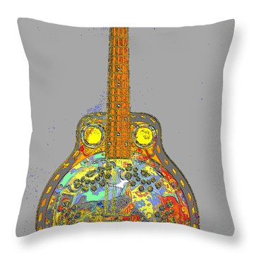 Brilliant Dobro 2 Throw Pillow
