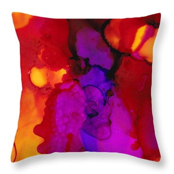 Brilliant Red Throw Pillow