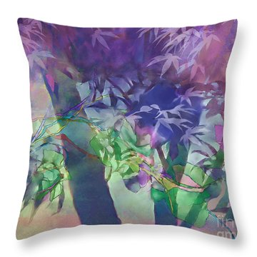 Throw Pillow featuring the digital art Brilliant Sunrise by Ursula Freer