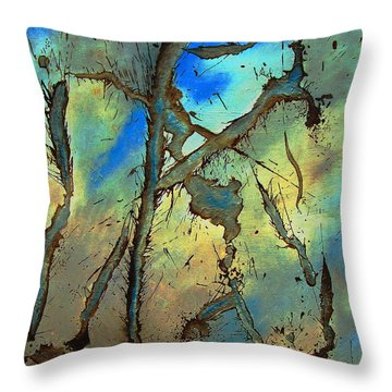 Brillig Throw Pillow by Stuart Engel