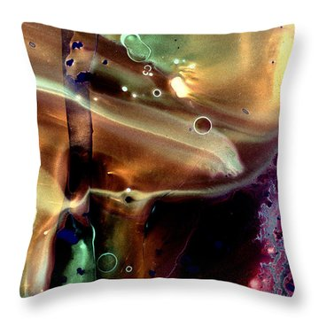 Bringing Feeling In Throw Pillow