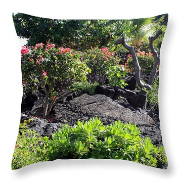 Throw Pillow featuring the photograph Bringing Sunshine Your Way by Karen Nicholson