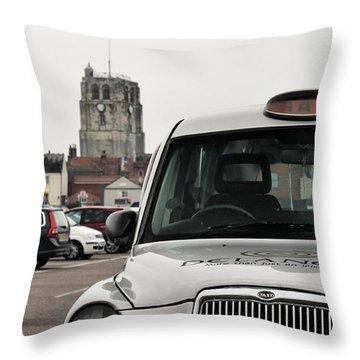 British Icons Throw Pillow
