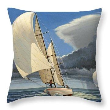 Sailboat Throw Pillows