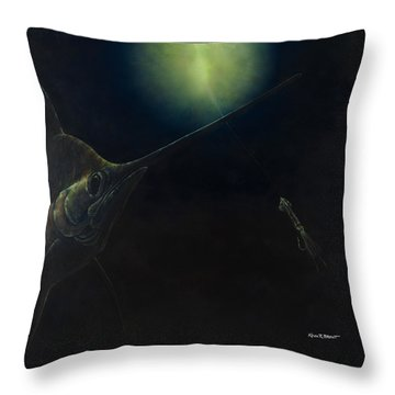 Broadbill Nights Throw Pillow