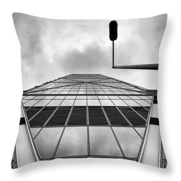 Broadgate Tower Throw Pillow