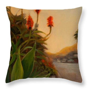 Broadview East Throw Pillow