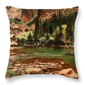 Broadwater Pond Throw Pillow