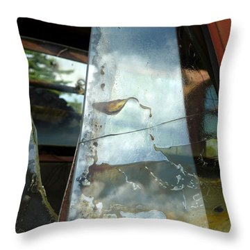 Throw Pillow featuring the photograph Broke by Newel Hunter