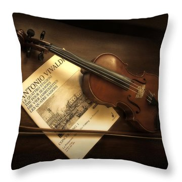 Throw Pillow featuring the photograph Broken A by Lucinda Walter