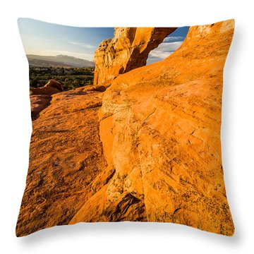 Broken Arch Throw Pillow